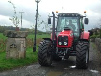 tractor at lawford lodge